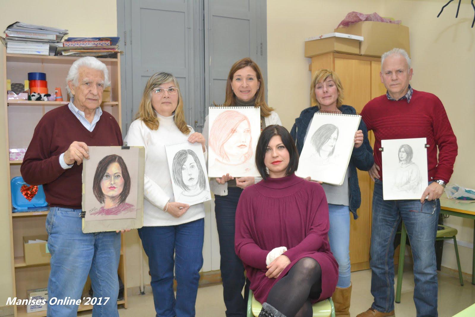 28-02-17 TALLER LLIURE DE DIBUIX EN LA CASA D CULTURA