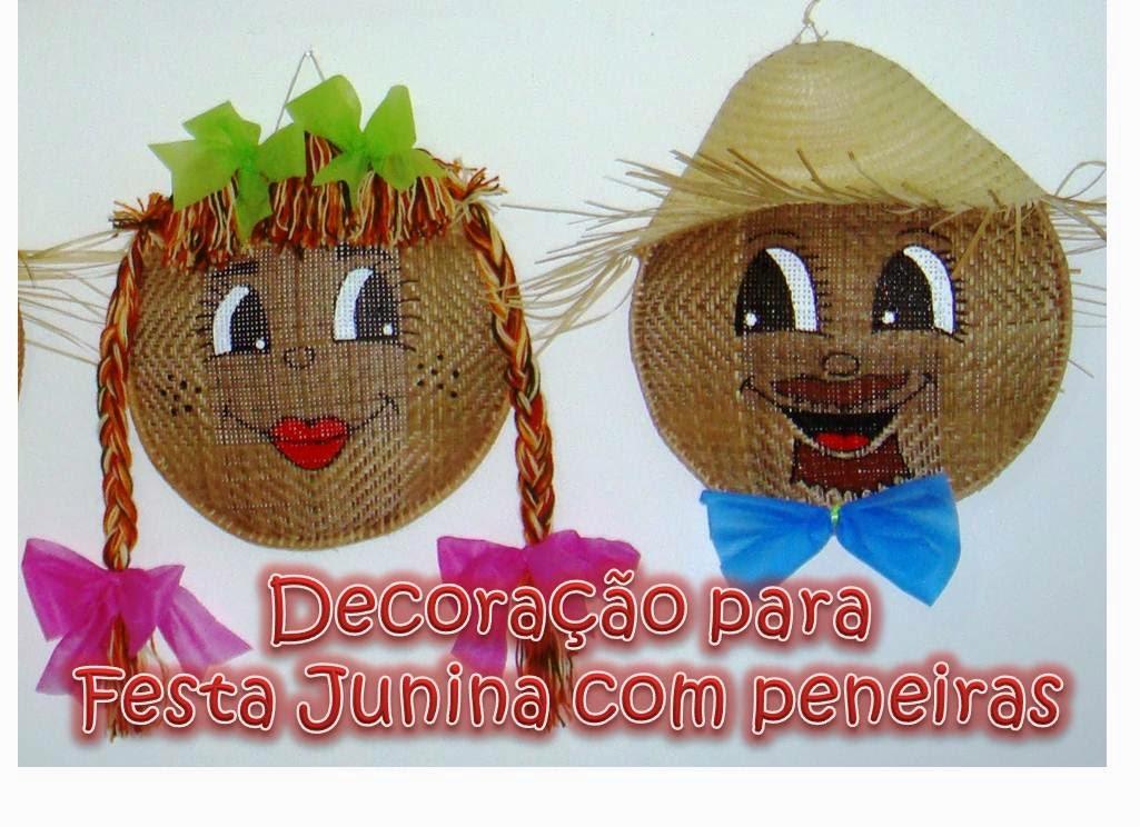decoracao festa junina educacao infantil: Brincando: Decora??o para ...
