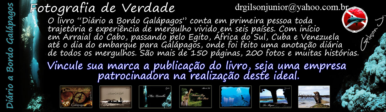 "Livro ""Dirio a Bordo Galpagos"""
