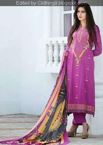 Pakistani Khaddar Dresses for Girls