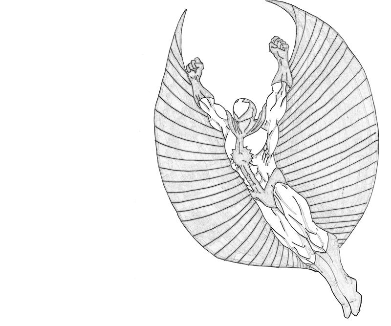 printable stingray character_coloring pages