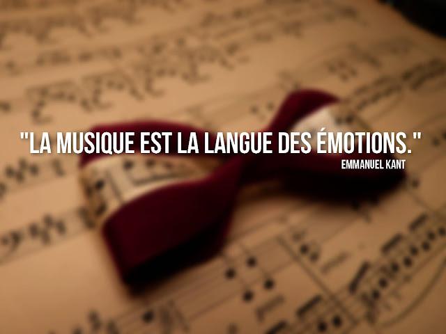 proverbe et citation musique