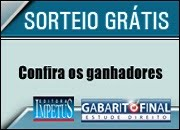 RESULTADO - SORTEIO 20/01/13