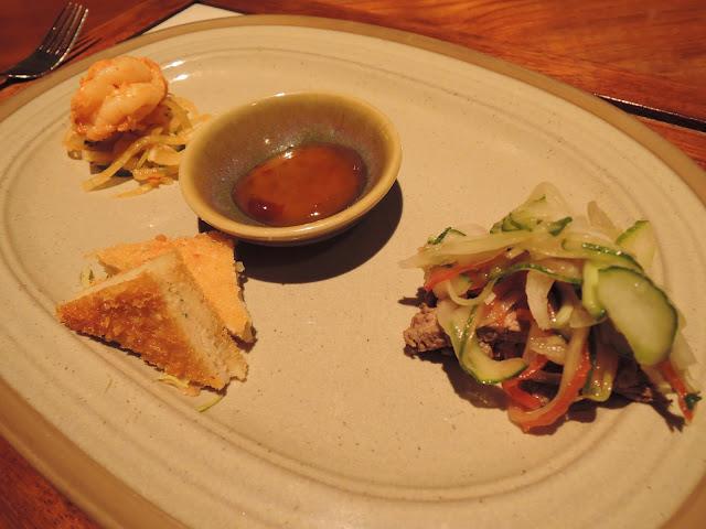thai cuisine, blue ginger, mauritius, trou aux biches, beachcomber