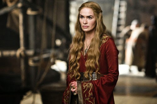 Cersei Lannister en Game of thrones (Juego de tronos)