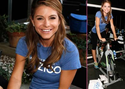 Maria Menounos Cycles for a Cause at ZICO Charity Spin Ride » Gossip/Maria Menounos