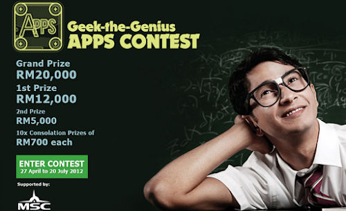Alcatel-Lucent 'Geek-the-Genius' Contest