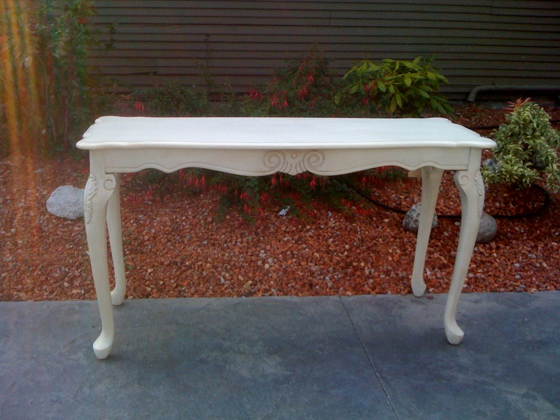 A french touch sold sofa table - Table console extensible solde ...