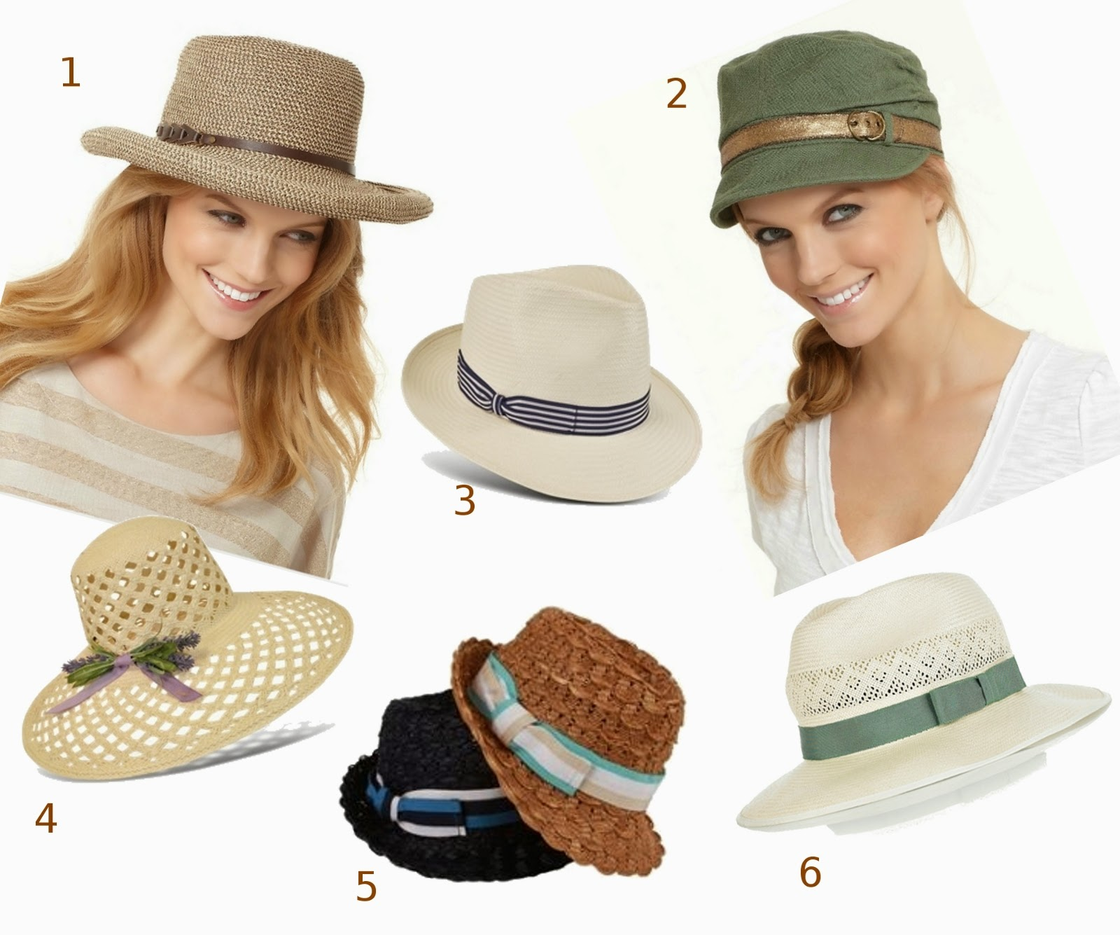 fashionable hats for summer fashion