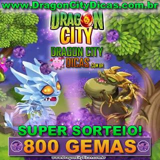 Super Sorteio - Concorra à 800 Gemas - Janeiro