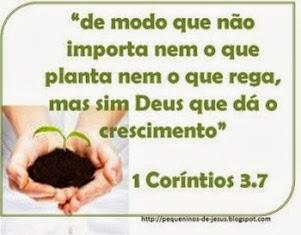 1 Coríntios 3.7