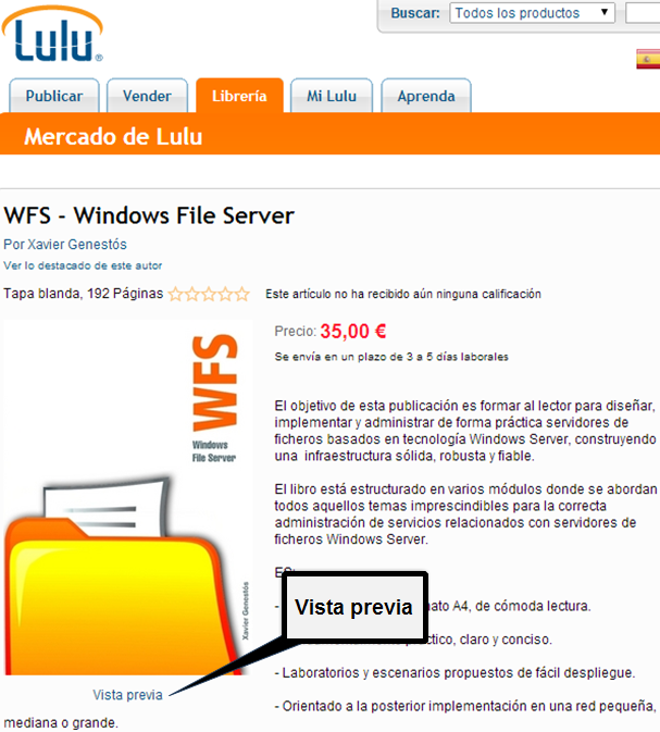 Libro WFS - Windows File Server