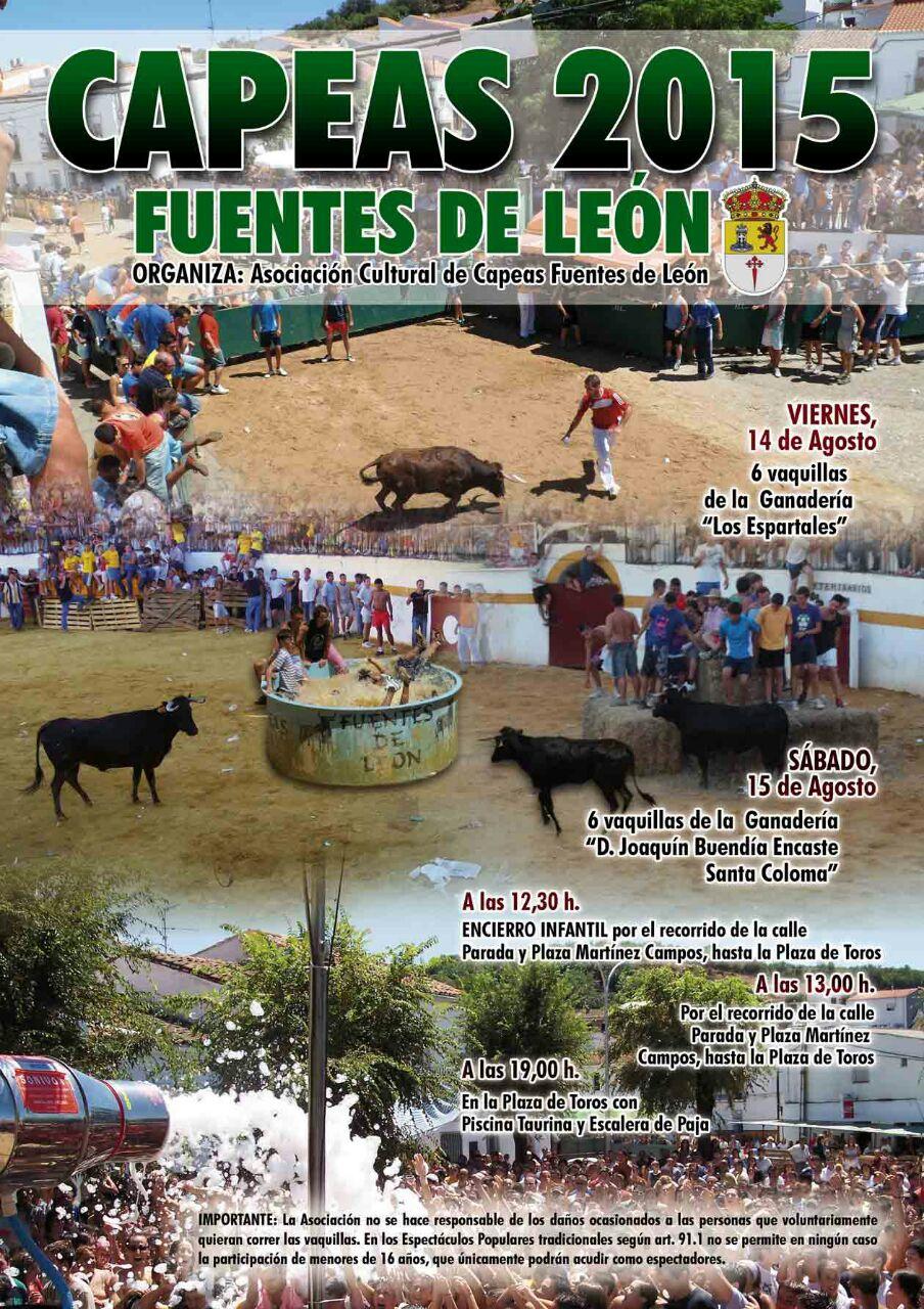 Oficina de turismo de fuentes de le n capeas 2015 for Oficina de turismo leon