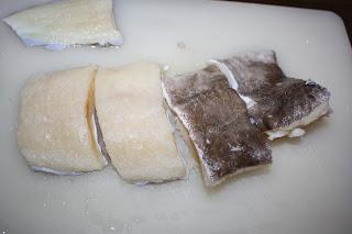 ricetta baccalà in umido light