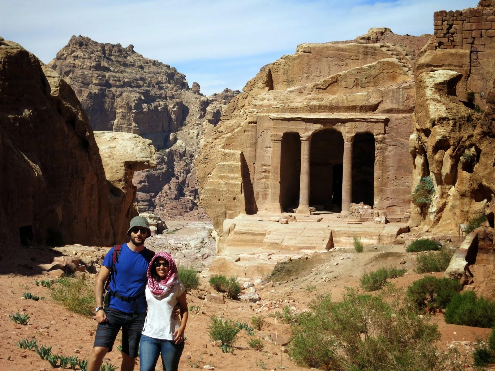 Rincón en Petra