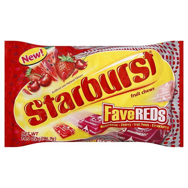 You should be able to buy just the pink/red Starbursts ...