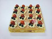 Victoria Sponge Cake (Slice)