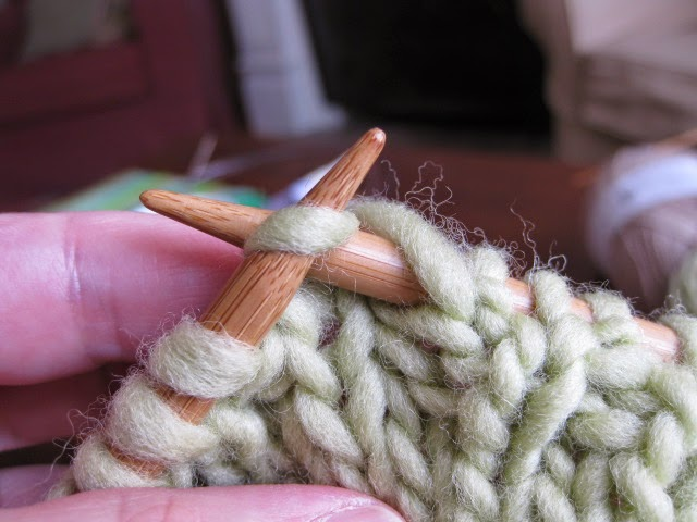 Knitting Yarn Over Purl Stitch : Chez lizzie tutorial yarn overs getting over the confusion