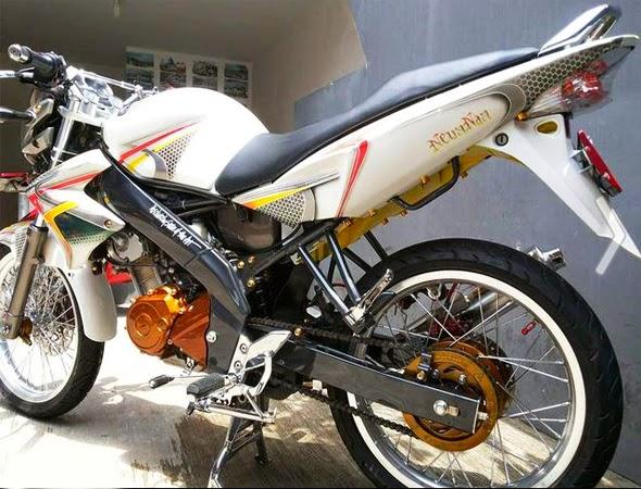 Modifikasi Motor Yamaha Vixion Velg Jari-Jari | Koleksi Foto Keren