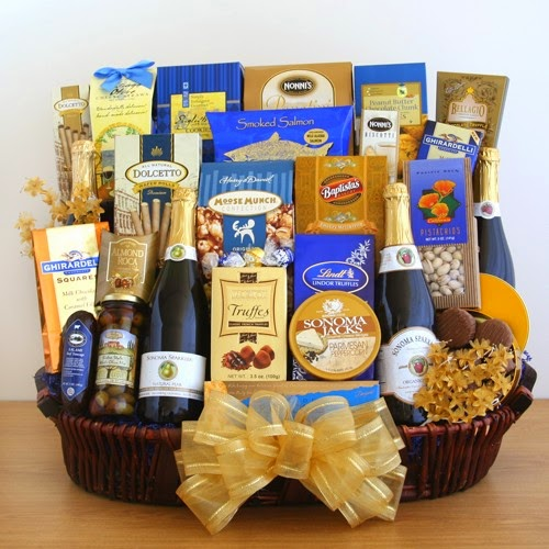 La Bella Baskets Wine Gift Baskets Sparkling Celebrations