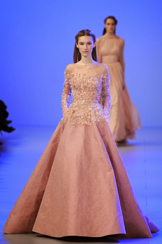 Elie Saab: Haute Couture Spring/Summer 2014 Collection | Keeping Up ...