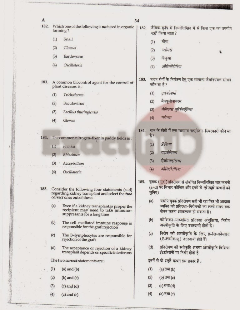 AIPMT 2010 Exam Question Paper Page 34