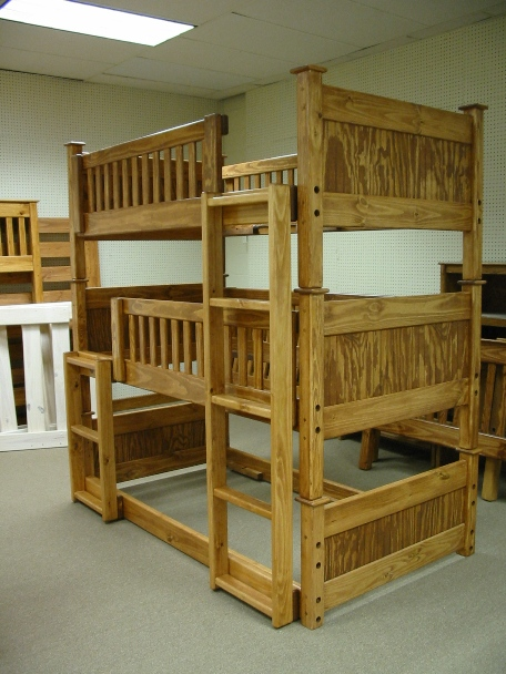 ... perfectly OK with the concept of the triple bunk as seen here