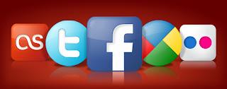immagine di icone sociali