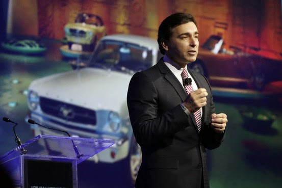 Mark Fields is the new CEO of Ford Motor Company