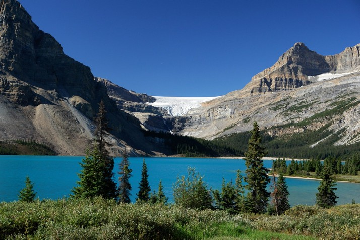 Wall Papers Bow Lake Canada