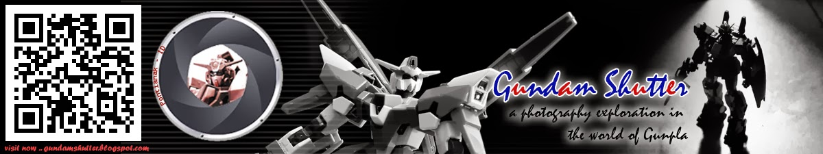 Gundam Shutter - Gunpla Photography