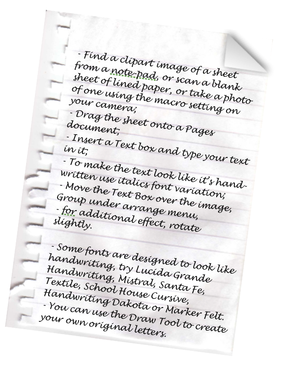 Find A Clipart Image Of A Sheet From A Note Pad, Or Scan A Blank Sheet Of Lined  Paper, Or Take A Photo Of One Using The Macro Setting On Your Camera;  Lined Paper With Drawing Box