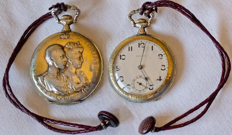 Reloj de bolsillo Boda Real de Alfonso XIII y Victoria Eugenia 1906