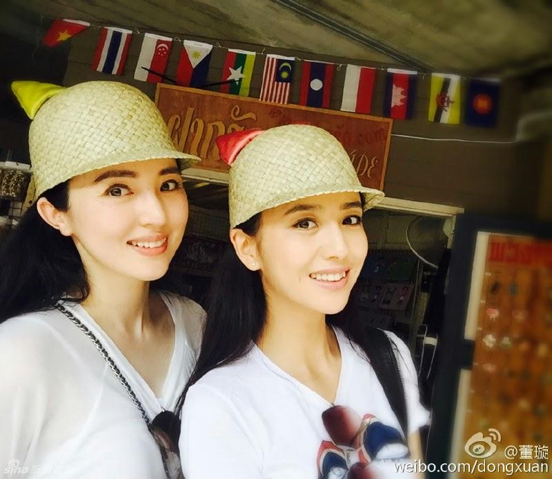 Chinesische Schauspielschönheiten in Thailand   Gerrys Blog