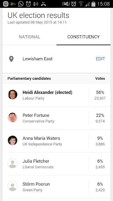 Heidi Alexander, Lewisham East MP, 2015