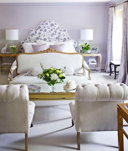 Light Lavender Bedroom
