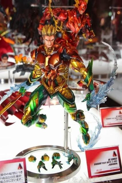 Square Enix Play Arts Kai DC Variant Aquaman Figure