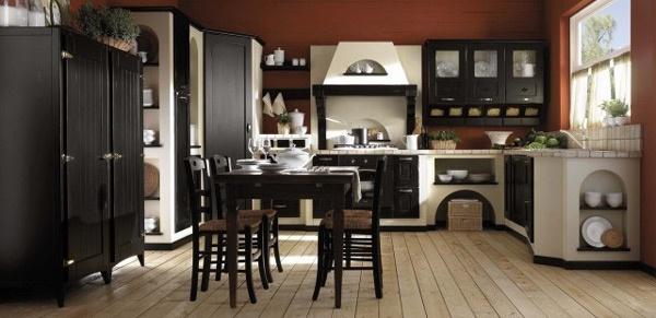 Consigli per la casa e l 39 arredamento cucine in muratura classiche country e moderne idee e - Cucine classiche in muratura ...