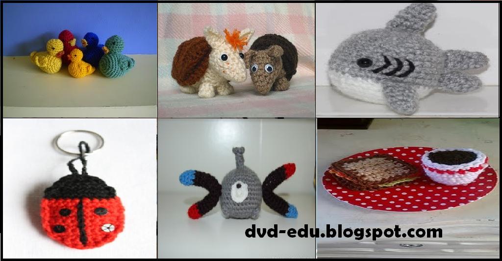Knitted Artinya : Crochet amigurumi membuat aneka barang dengan tehnik rajut