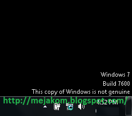Cara Mudah Mengatasi Windows 7 Not Genuine Dengan Windows Loader
