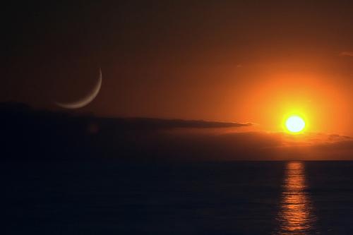 Du soir au soir ou du matin au matin ? Sun-and-moon