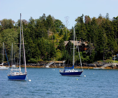 sailboats at Cook's Lobster House