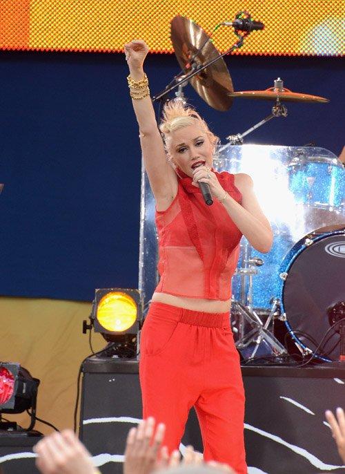 No Doubt Rocks Out GMA's Summer Concert Series » Gossip | Gwen Stefani