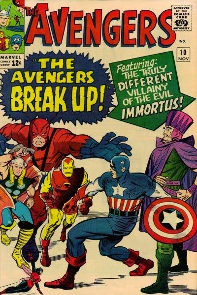 Avengers #10, Immortus