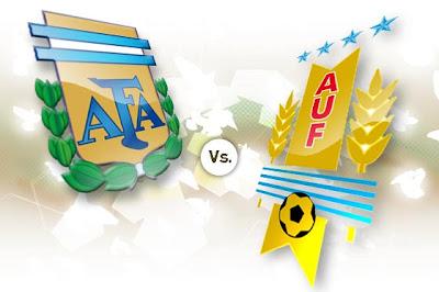 Prediksi Skor Argentina vs Uruguay 13 Oktober 2012