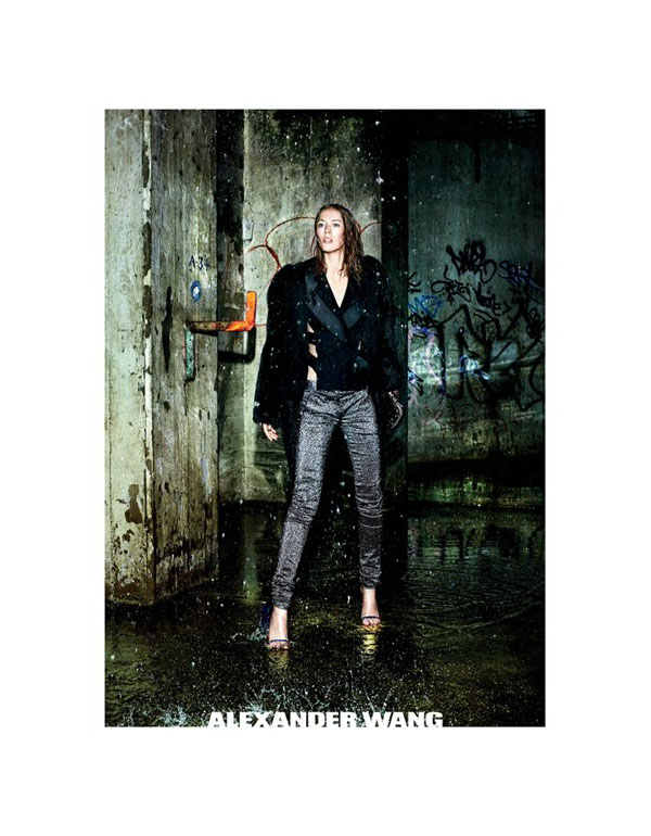 Raquel Zimmermann for Alexander Wang A/W 2011 Campaign
