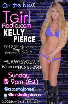 TS Tasha Jones Interviews shemale Kelly Pierce.
