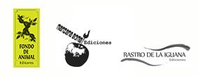 Fondo de Animal Editores-Manzana Bomb! Ediciones - Rastro de la Iguana Ediciones