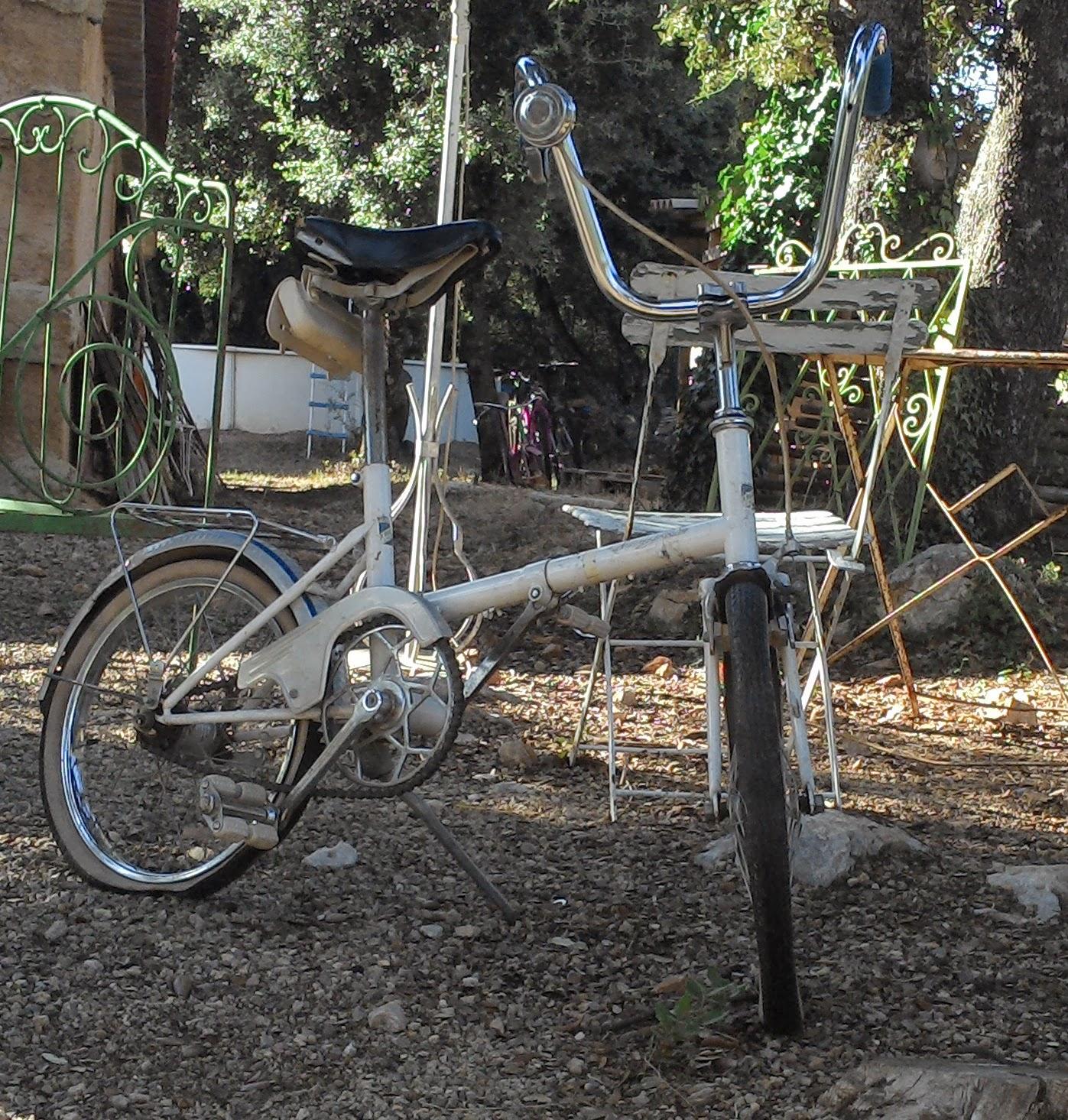 ancien mini v lo pliant pliable vintage chopper seventies 70 39 s french bike ebay. Black Bedroom Furniture Sets. Home Design Ideas