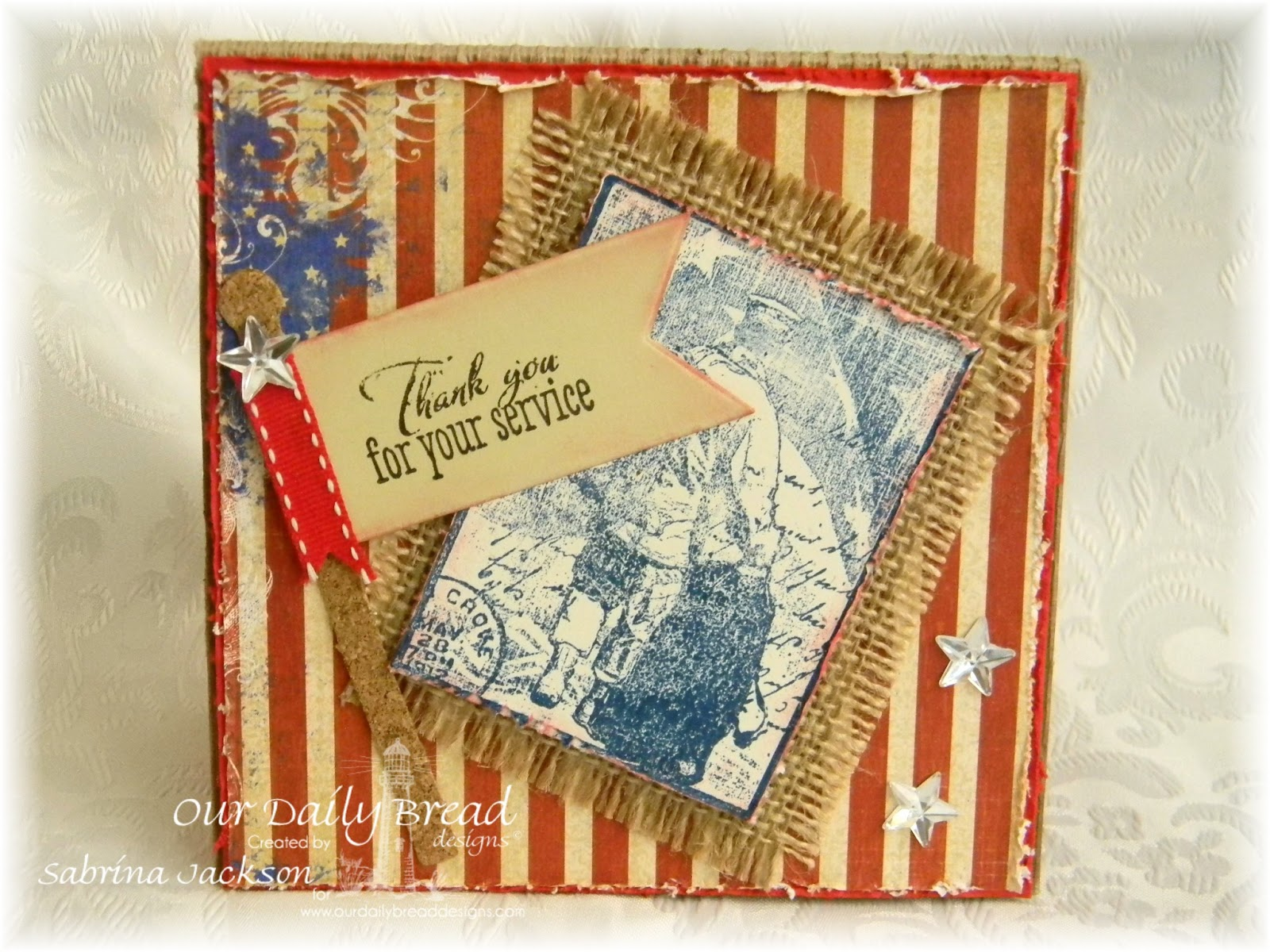 Stamps Our Daily Bread Designs - Not Forgotten, Patriotic Pennants, ODBD Custom Pennants Die